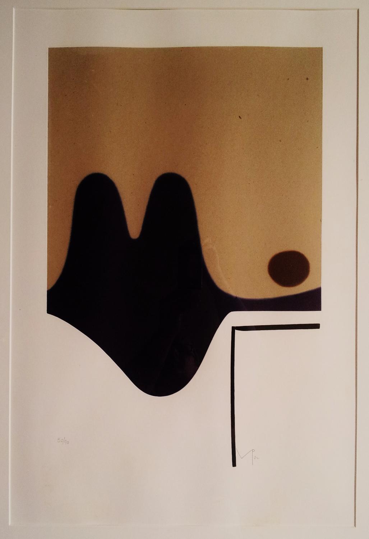 Victore Pasmore Print Il Risveglio Della Psiche 1983