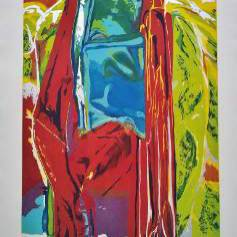 John Chamberlain print `3 Daughters, More Rain` 1987, American