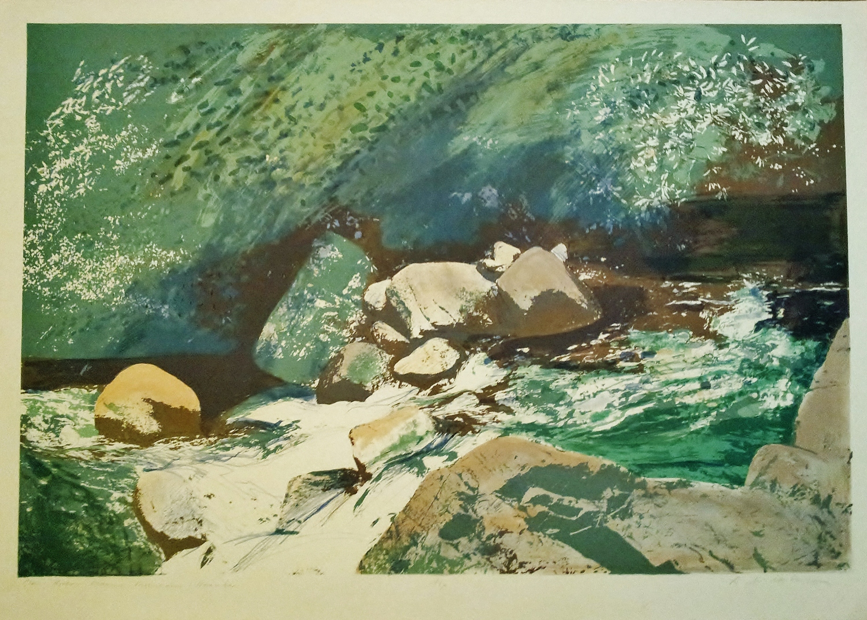 Donald Wilkinson Print Glen River Mourne Mountains