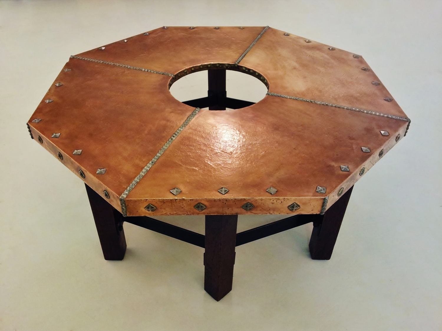 arts and crafts trestle extension table amish tables arts an