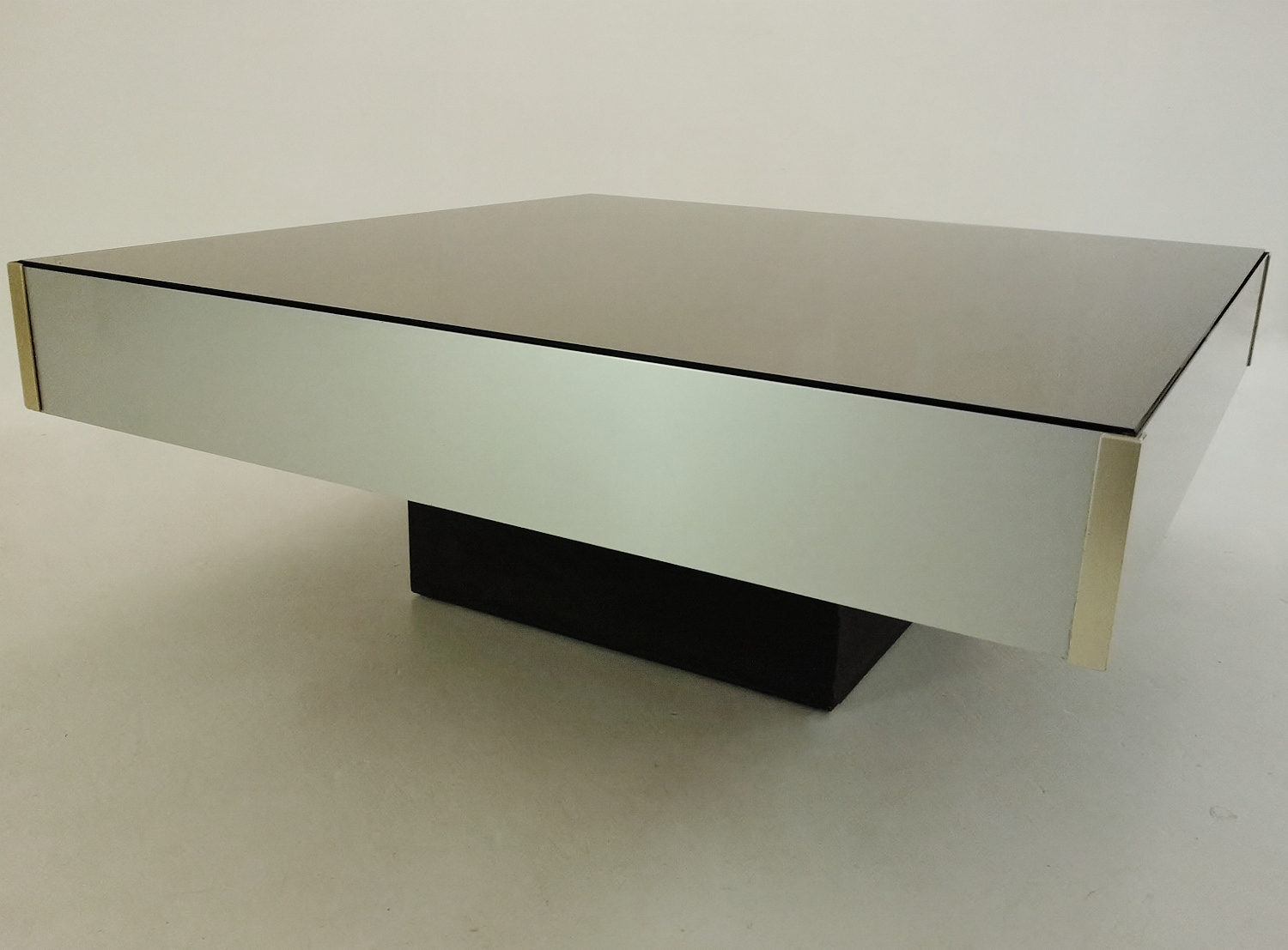 Floating Coffee Table Cidue Vintage Square Floating Coffee Table 1970s Ca Italian In